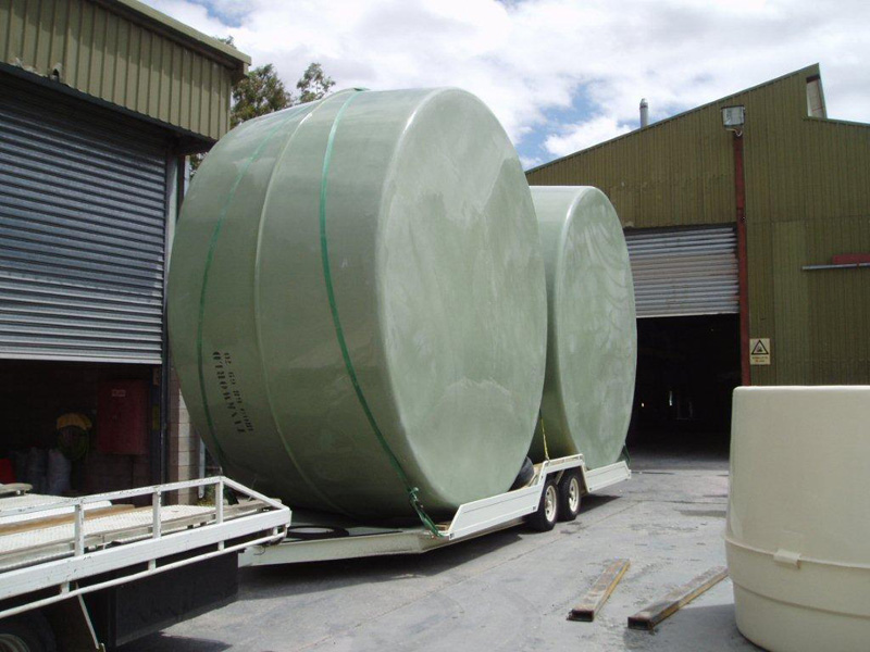 Water Tank Transport Trailer