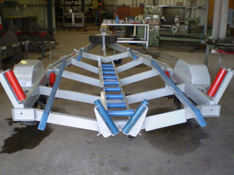 Tilting Boat Trailer